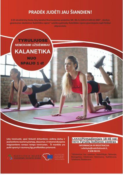 Kalanetika Tyruliai @ Tyrulių kultūros centras