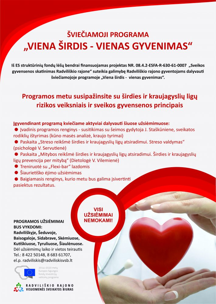 širdies sveikatos kraujo tyrimai)