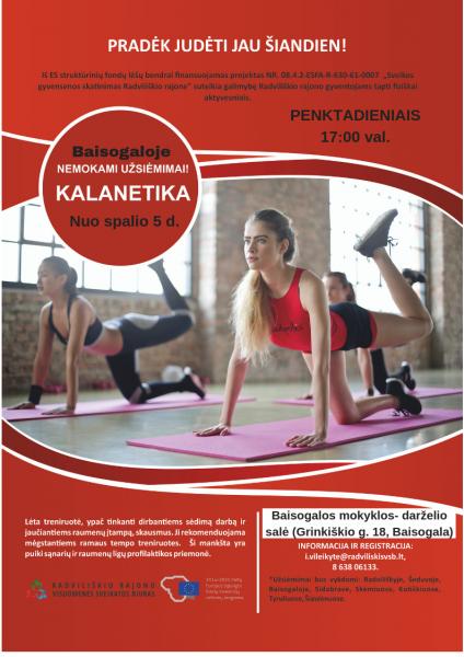 Kalanetika Baisogaloje @ Baisogalos mokyklos - darželio salė | Baisogala | Šiaulių apskritis | Lietuva