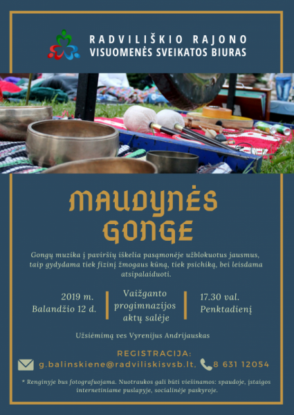 Maudynės Gonge @ Vaižganto progimnazijos aktų salė