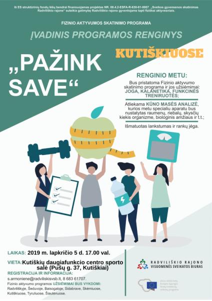 """""""Pažink save"""" programos įvadinis renginys Kutiškiuose @ Kutiškių daugiafinkcis centras"""